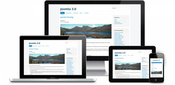 Mobile responsive design with Joomla.
